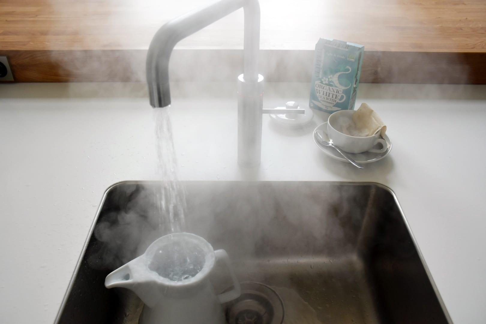 TEATIME QUOOKER: DER Kochend-Wasser-Hahn für deine küche ...